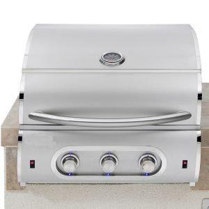 3 Burner Excalibur gas grill