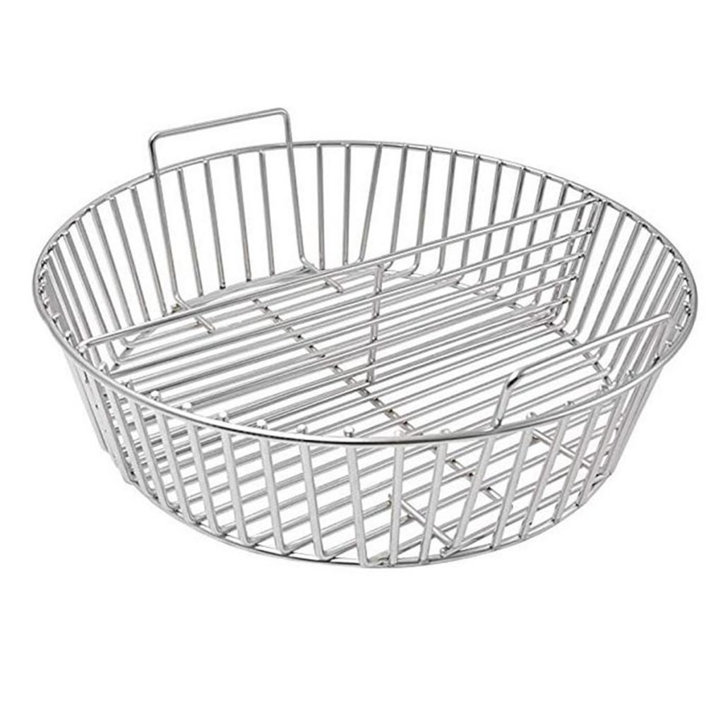 charcoal Basket with seperator 1